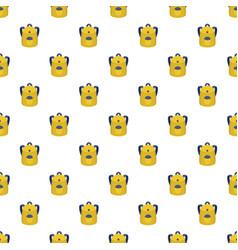 school backpack pattern seamless vector image