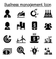 Stock market exchange icon set vector
