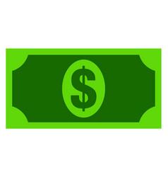 Usd banknote flat icon symbol vector