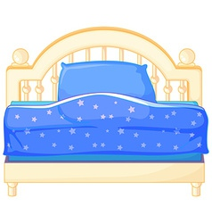 Bed vector image vector image