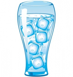 ice cold vector image