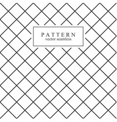 grid minimal seamless pattern vector image vector image