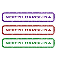 north carolina watermark stamp vector image vector image