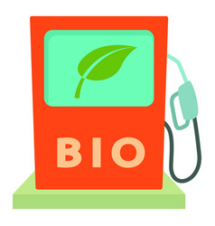 Biofuel icon cartoon style vector