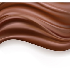 Creamy chocolate vector