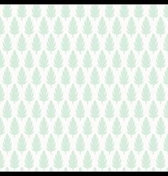 creative leaf pattern background design vector image