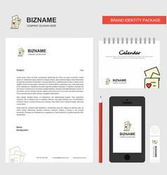 documents business letterhead calendar 2019 and vector image