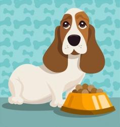 dog illustration vector image