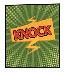 Knock vector