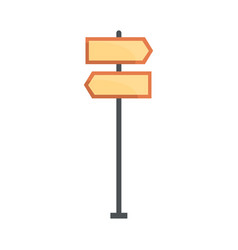 Road directional signs vector