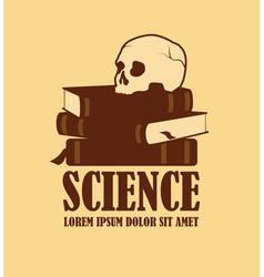 Science logo design vector image