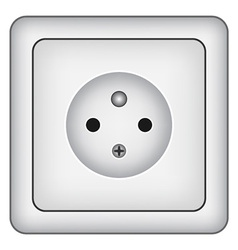 Wall socket vector