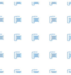 water hose icon pattern seamless white background vector image