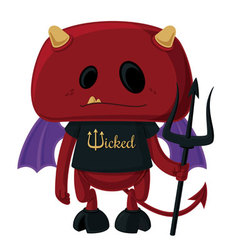 Little Devil vector image