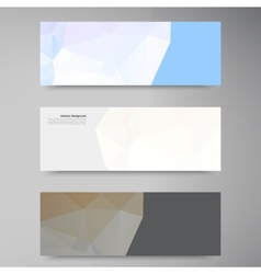 abstract background Polygonal pattern vector image