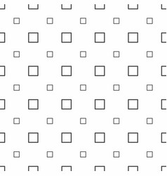 abstract seamless pattern grey squares modern vector image