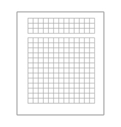 Business document sheet isolated icon vector image