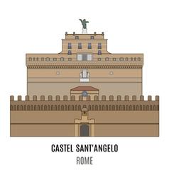 Castel santangelo vector