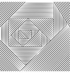 Geometric pattern entangle vector