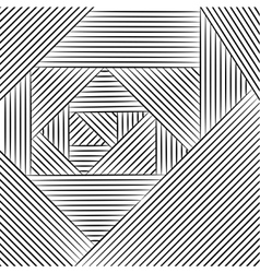 Geometric pattern Zentangle vector image