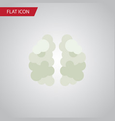 Isolated mind flat icon mentality element vector