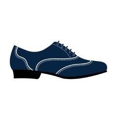 Man s shoe vector image