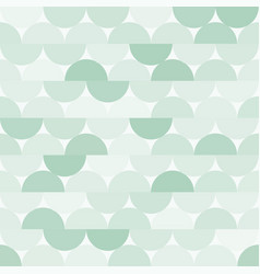 seamless halves rounds colourful green vector image