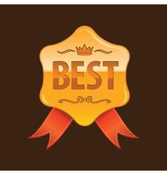 best gold vector image vector image