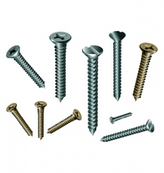 fasteners vector image vector image
