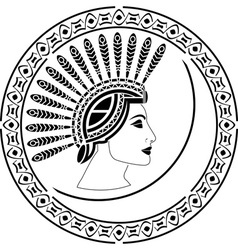 priestess vector image vector image