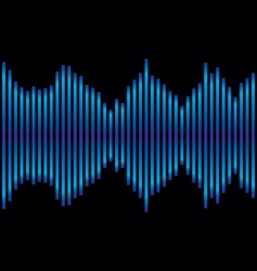 music equaliser vector image vector image