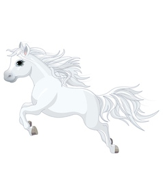 Running horse vector image vector image