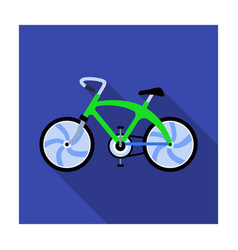a sports bike for a quick ride down the road vector image