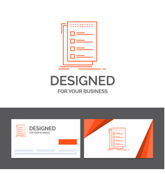 Business logo template for check checklist list vector
