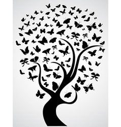 Butterfly tree vector