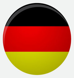 Germany flag icon flat vector