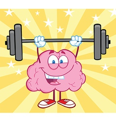 Healthy brain food cartoon vector