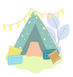 Home-tent vector