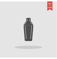 Cocktail shaker icon vector image