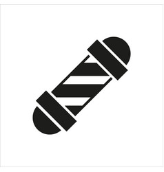 Barbershop element icon on white vector