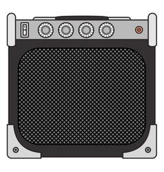 Electric Guitar Amplifier vector