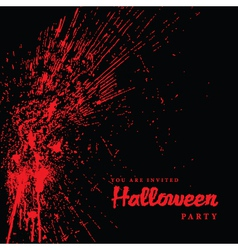 Halloween grunge vector