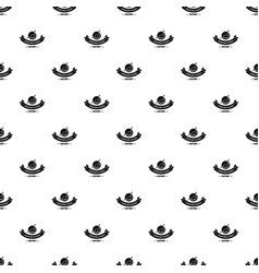 jurassic nature pattern seamless vector image