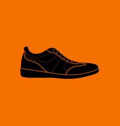 man casual shoe icon vector image