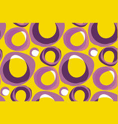 Retro 60s background pattern vector