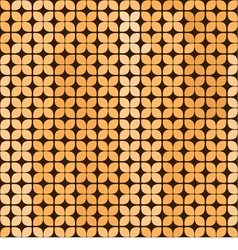 Seamless abstract background in yellow and brown vector image