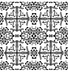 seamless texture black and white pattern vector image