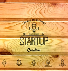 Startup project badges logos and labels for any vector