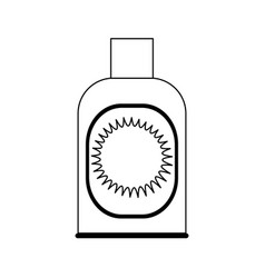 Sunblock or sunscreen icon image vector