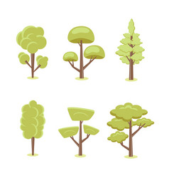 trees for design vector image